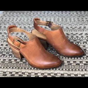 Chinese Laundry Open Heel Ankle Bootie